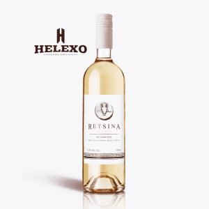 Retsina Helexo White Dry Wine, 500ML