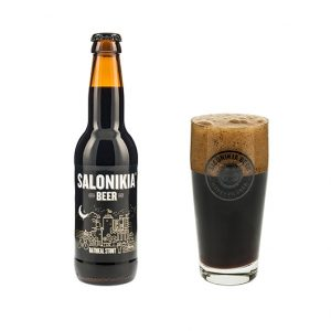 Salonikia Oatmeal Stout Beer 330ml