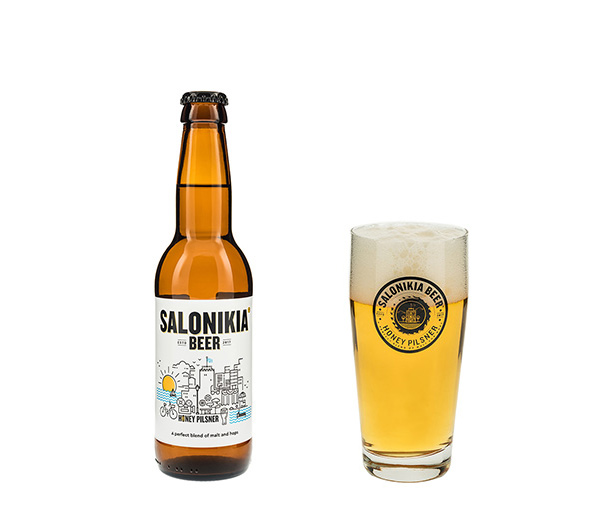 Salonikia Pilsner Style Beer 330ml