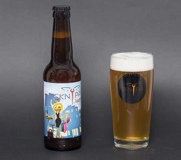 Sknipa Lady Saison Beer 330ml