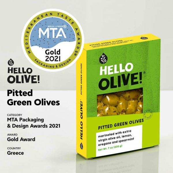 Hello Olive Gold Award