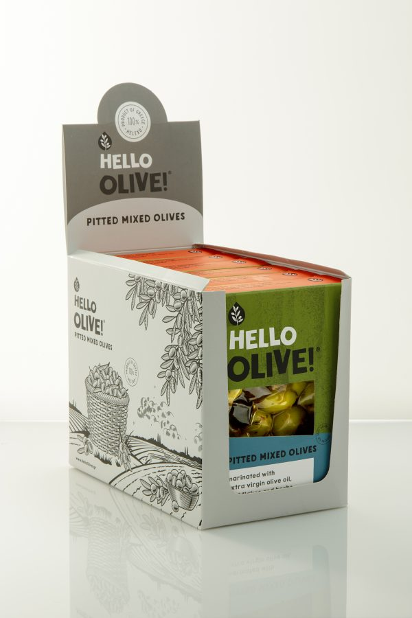 Hello Olive! Pitted Mixed Olives