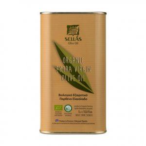 Organic Extra Virgin Olive Oil 1L